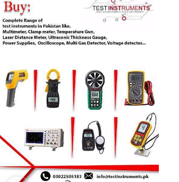 Buy Electronic test instruments in Pakistan Shipping Free