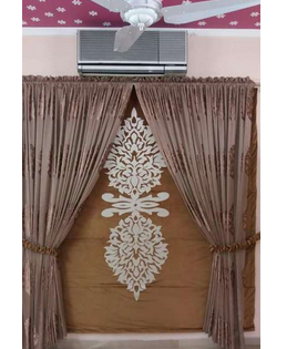 Curtain with blind motive new style iNn 2017