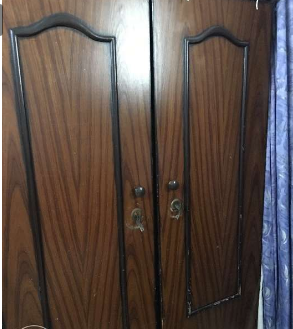2door wood cupboard