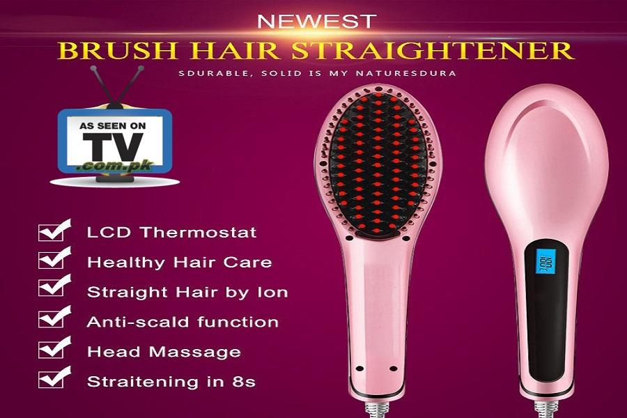 Fast Hair Straightener Brush In Pakistan Online Shopping BabaTara.Com