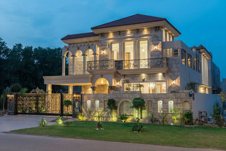 Defence 1kanal brand new spanish villa for sale In Lahore