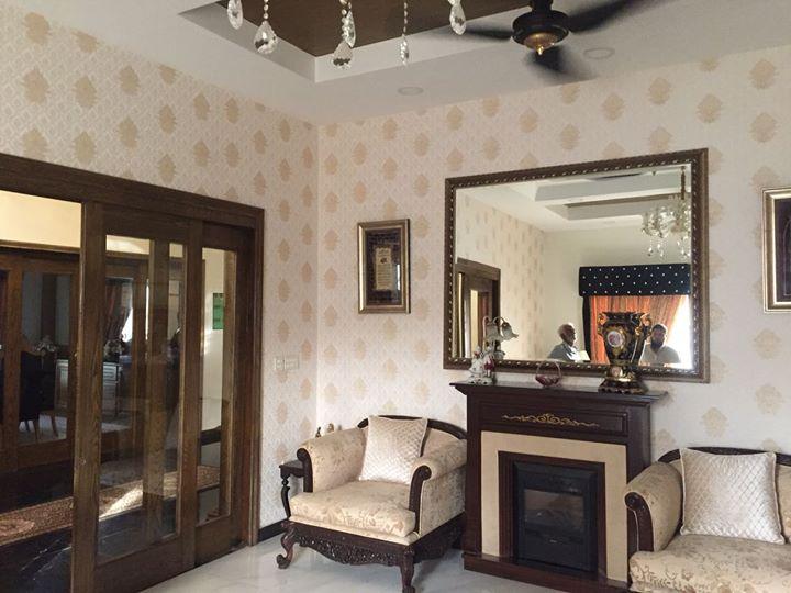 1 Kanal Double Story Splendid Designer House | Owner Build | Garden town Lahore