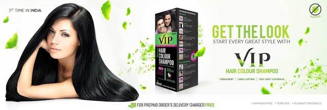 Vip Hair Colour Shampoo In Pakistan™ www.TeleTopShop.com