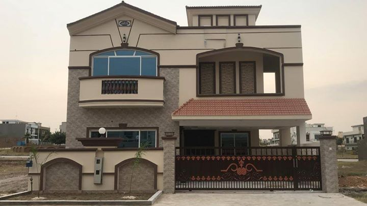 Stylish 10 Marla Best Quality House For Sale Bahria Town Phase 8