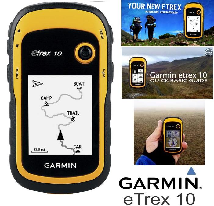 Garmin Etrex-10 GPS