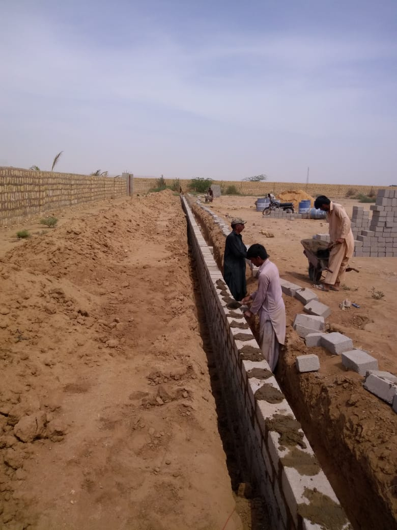Plots Land of Farm Houses on installments Super Highway Karachi Pakistan