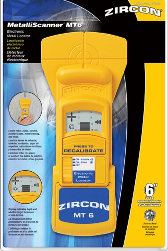 """ZIRCON"" (USA) Rebar Locator/Metal Detector/Metal Scanner/Multi Scan/MT-6"