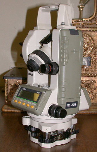 Nikon (Japan) Electronic Digital Theodolite