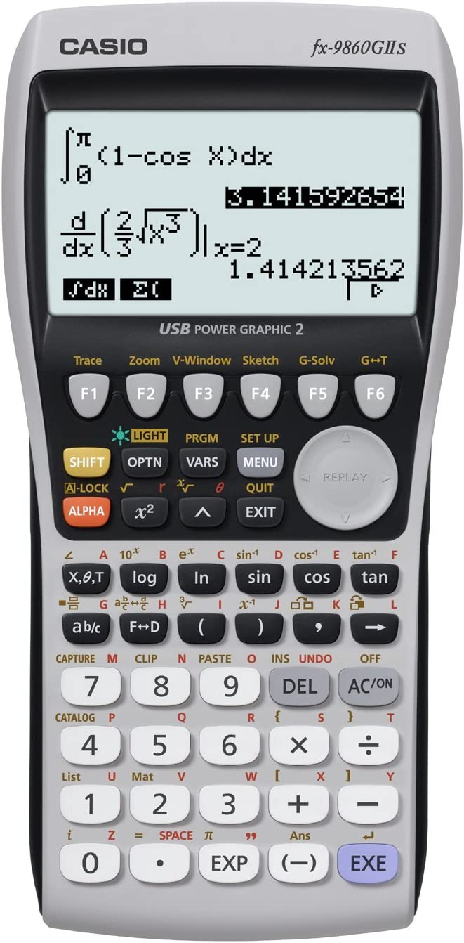 Calculator Casio fx-9860GII Graphing Calculator