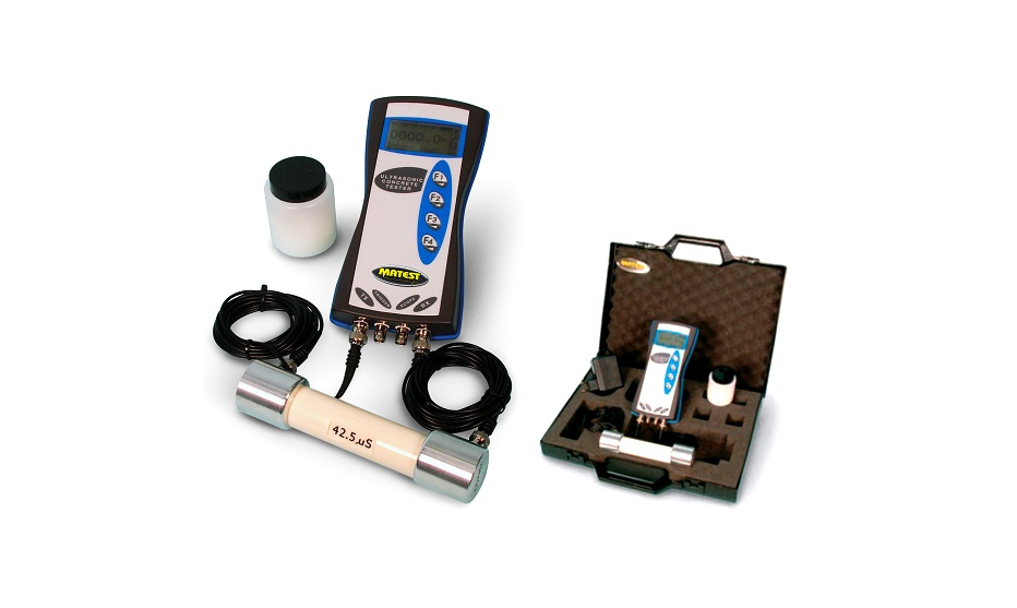 Ultrasonic Pulse Velocity Tester (UPV Measurements)