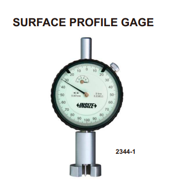 INSIZE (USA) Surface Profile Gauge